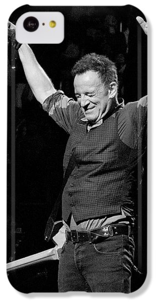 Bruce Springsteen IPhone 5c Case by Jeff Ross
