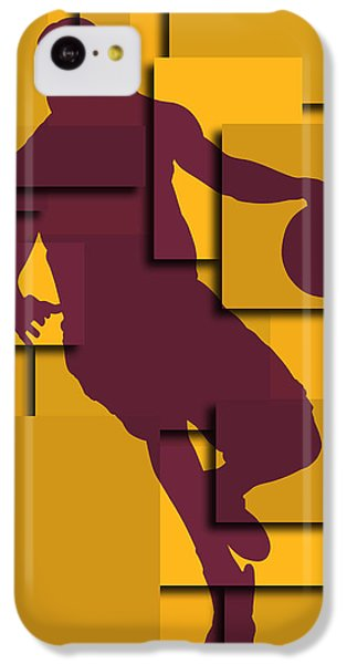 Cleveland Cavaliers Lebron James IPhone 5c Case by Joe Hamilton