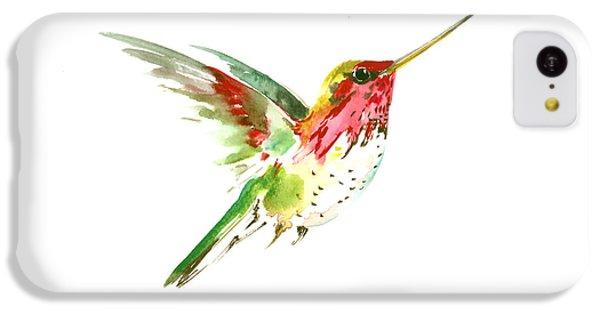 Flying Hummingbird IPhone 5c Case by Suren Nersisyan