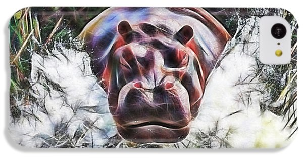 Hippo IPhone 5c Case by Marvin Blaine