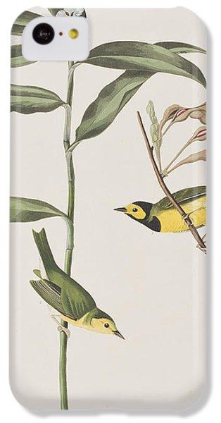 Hooded Warbler  IPhone 5c Case by John James Audubon