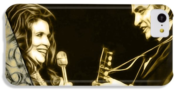 June Carter And Johnny Cash Collection IPhone 5c Case by Marvin Blaine
