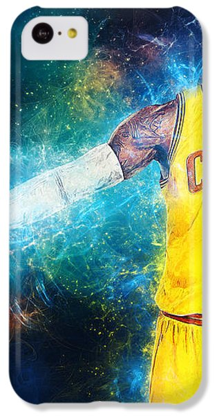 Lebron James IPhone 5c Case by Taylan Soyturk