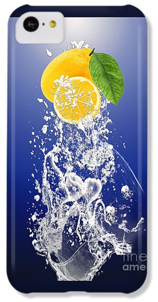 Lemon Splast IPhone 5c Case by Marvin Blaine