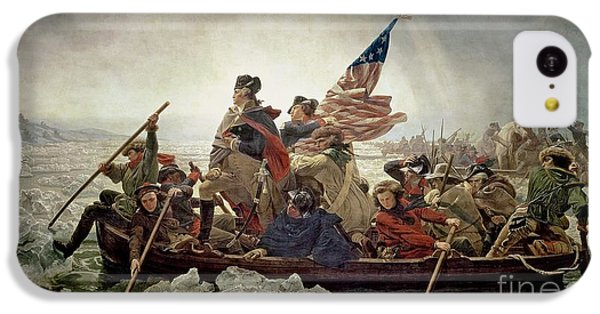 Washington Crossing The Delaware River IPhone 5c Case by Emanuel Gottlieb Leutze