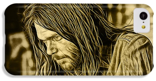 Neil Young Collection IPhone 5c Case by Marvin Blaine