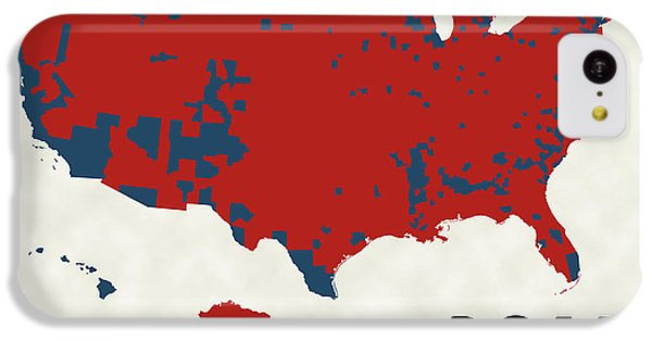 2016 Election Results IPhone 5c Case by Finlay McNevin