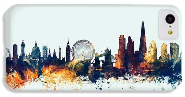 London England Skyline IPhone 5c Case by Michael Tompsett