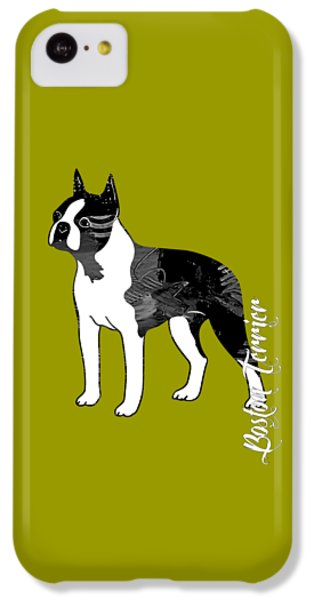 Boston Terrier Collection IPhone 5c Case by Marvin Blaine