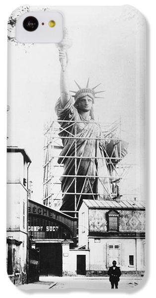 Statue Of Liberty, Paris IPhone 5c Case by Granger