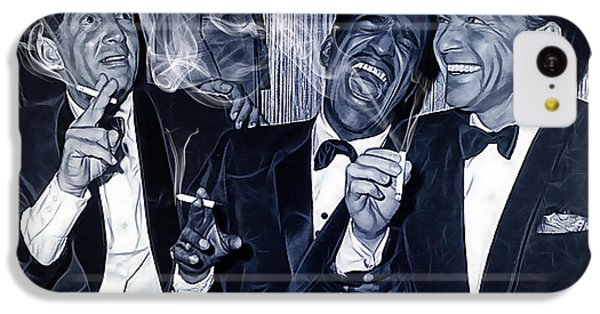 The Rat Pack Collection IPhone 5c Case by Marvin Blaine