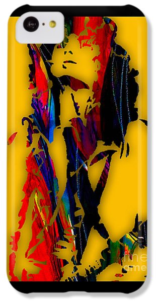 Jimmy Page Collection IPhone 5c Case by Marvin Blaine