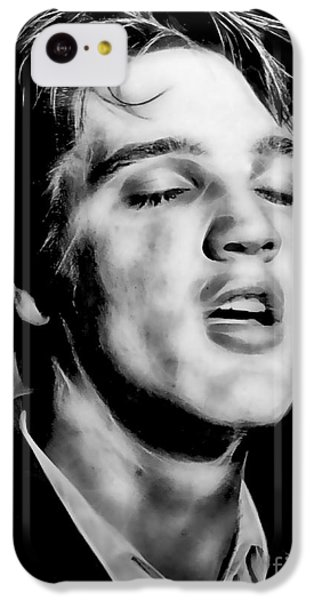 Elvis Presley Collection IPhone 5c Case by Marvin Blaine