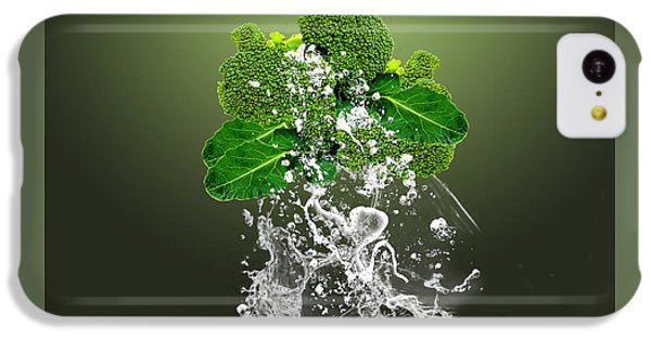 Broccoli Splash IPhone 5c Case by Marvin Blaine