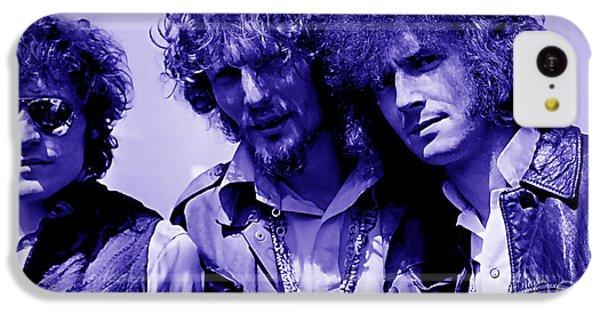 Cream Eric Clapton Jack Bruce Ginger Baker IPhone 5c Case by Marvin Blaine