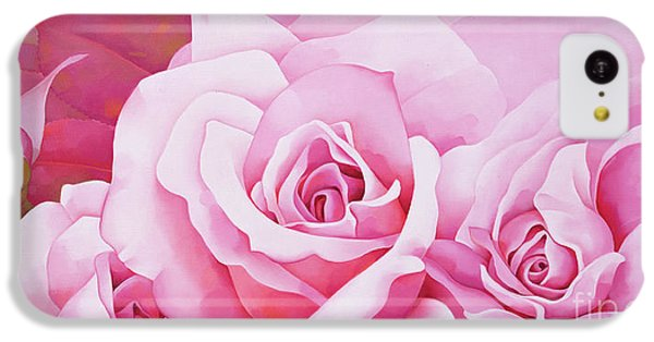 The Rose  IPhone 5c Case by Myung-Bo Sim