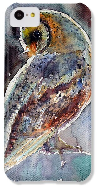 Barn Owl IPhone 5c Case by Kovacs Anna Brigitta