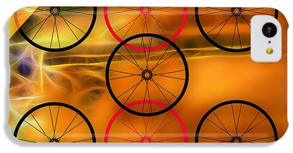 Bicycle Wheel Collection IPhone 5c Case by Marvin Blaine