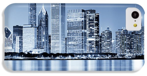 Chicago Skyline At Night IPhone 5c Case by Paul Velgos