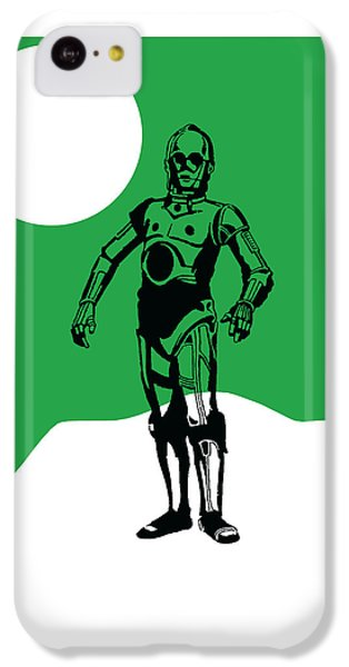 Star Wars C-3po Collection IPhone 5c Case by Marvin Blaine