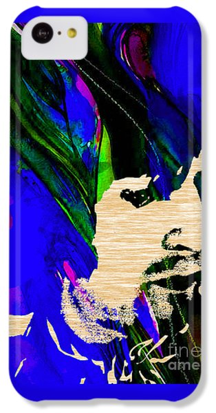 Eric Clapton Collection IPhone 5c Case by Marvin Blaine