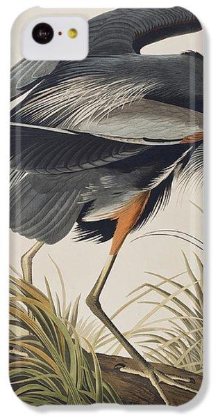 Great Blue Heron IPhone 5c Case by John James Audubon