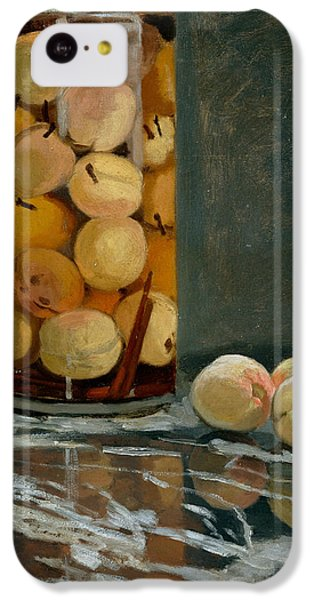 Jar Of Peaches IPhone 5c Case by Claude Monet