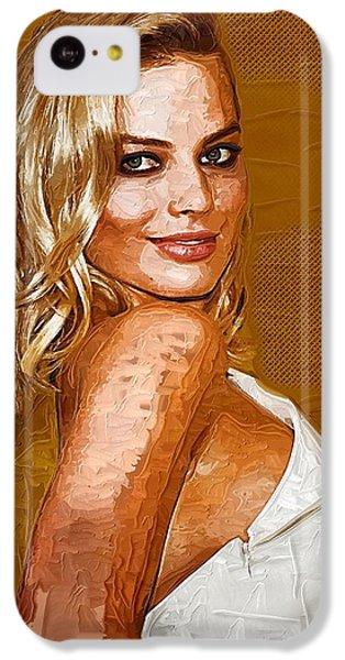 Margot Robbie Art IPhone 5c Case by Best Actors