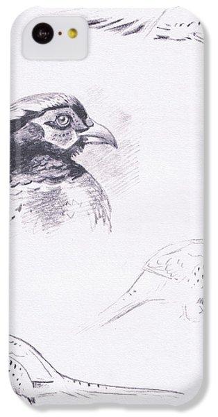 Pheasants IPhone 5c Case by Archibald Thorburn