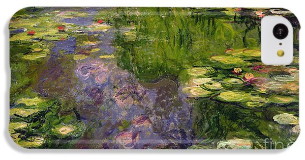 Waterlilies IPhone 5c Case by Claude Monet