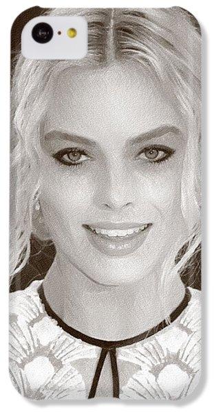 Actress Margot Robbie IPhone 5c Case by Best Actors