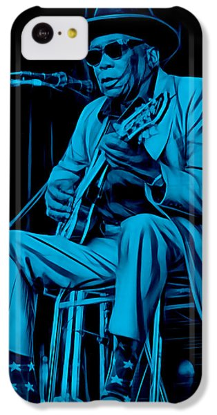 John Lee Hooker Collection IPhone 5c Case by Marvin Blaine