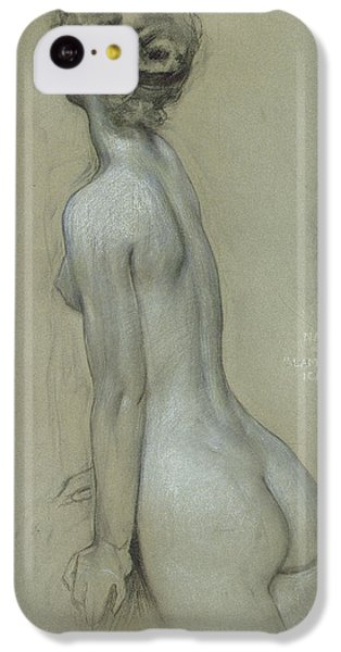 A Naiad In The Lament For Icarus IPhone 5c Case by Herbert James Draper