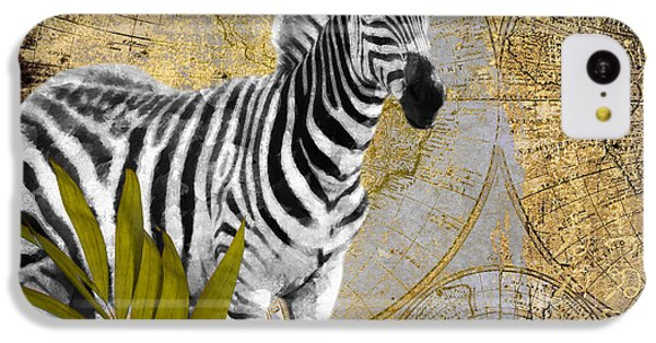 A Taste Of Africa Zebra IPhone 5c Case by Mindy Sommers