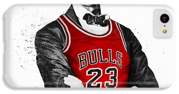 Abe Lincoln In A Bulls Jersey IPhone 5c Case by Roly Orihuela
