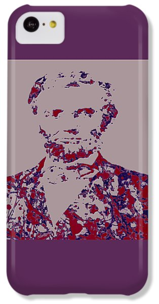 Abraham Lincoln 4c IPhone 5c Case by Brian Reaves