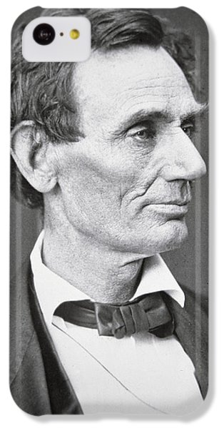 Abraham Lincoln IPhone 5c Case by Alexander Hesler