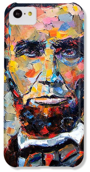 Abraham Lincoln Portrait IPhone 5c Case by Debra Hurd