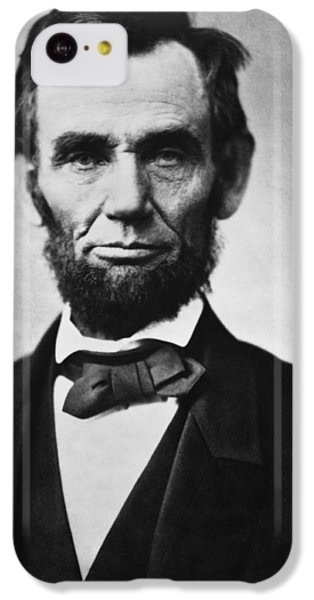 Abraham Lincoln IPhone 5c Case by War Is Hell Store
