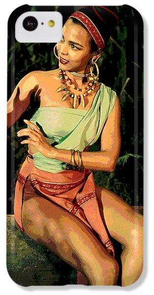 Actress Dorothy Fandridge IPhone 5c Case by Charles Shoup
