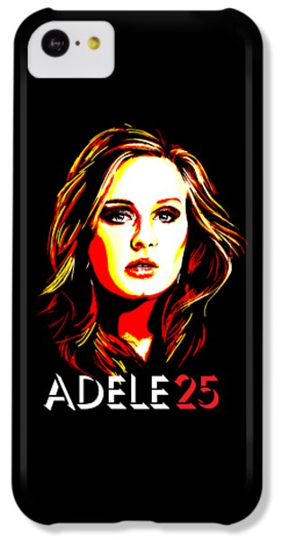 Adele 25-1 IPhone 5c Case by Tim Gilliland