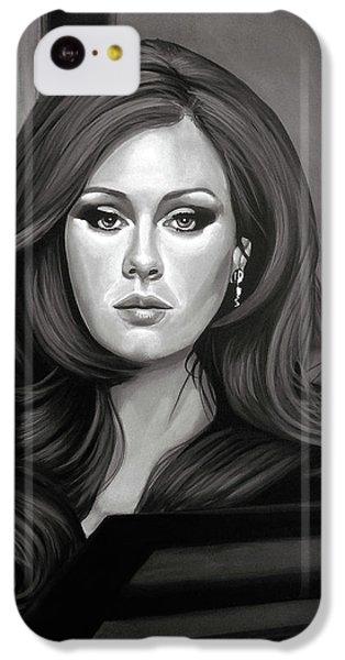Adele Mixed Media IPhone 5c Case by Paul Meijering