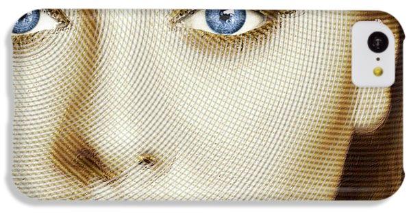 Adele Painting Circle Pattern 1 IPhone 5c Case by Tony Rubino