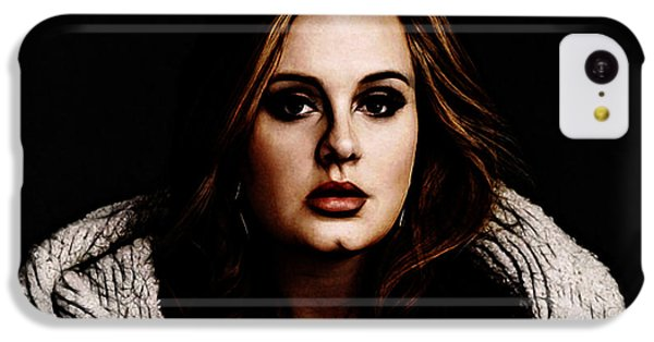Adele IPhone 5c Case by The DigArtisT