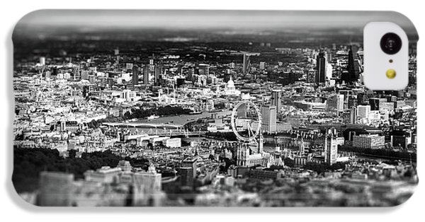 Aerial View Of London 6 IPhone 5c Case by Mark Rogan