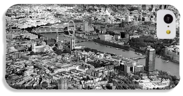 Aerial View Of London IPhone 5c Case by Mark Rogan