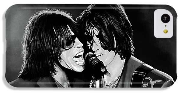Aerosmith Toxic Twins Mixed Media IPhone 5c Case by Paul Meijering