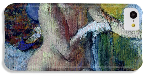 After The Bath IPhone 5c Case by Edgar Degas
