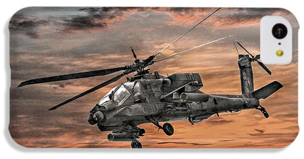 Ah-64 Apache Attack Helicopter IPhone 5c Case by Randy Steele