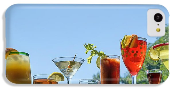 Alcoholic Beverages - Outdoor Bar IPhone 5c Case by Nikolyn McDonald